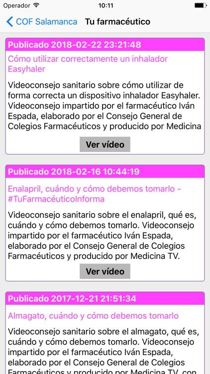 Salamanca Farmacias screenshot-5