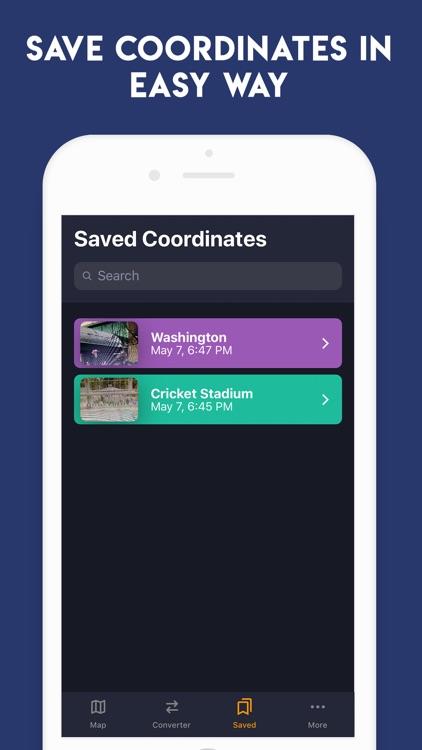 GPS Coordinates ° screenshot-3