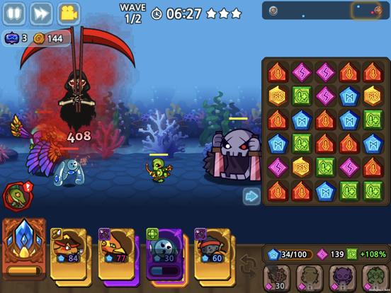 パズル&ディフェンス:Match 3 Battleのおすすめ画像5