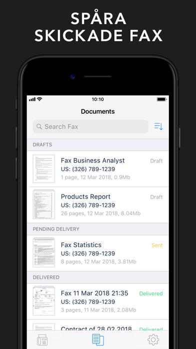 Fax App. Skicka fax med iPhone på PC