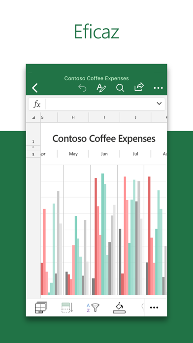 Screenshot for Microsoft Excel in Argentina App Store