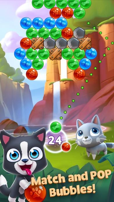 Pet Paradise: Bubble Pop Match screenshot 1