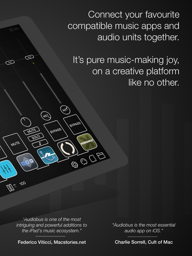 ‎Audiobus: Mixer for music apps Screenshot