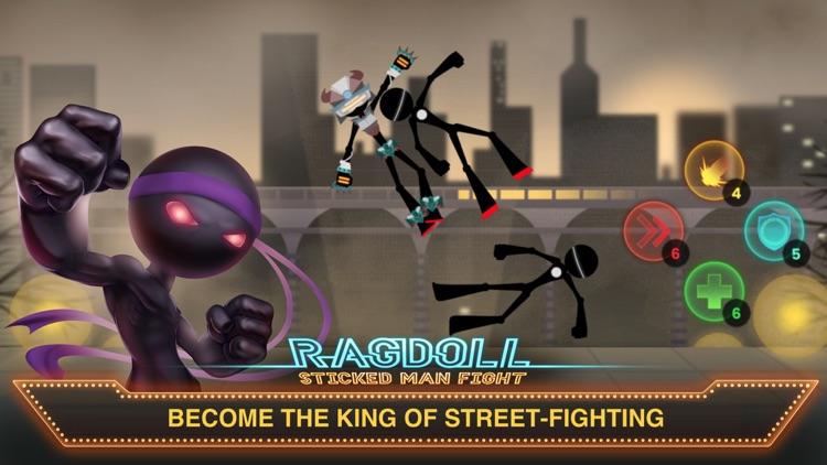 Ragdoll Sticked Man Fight