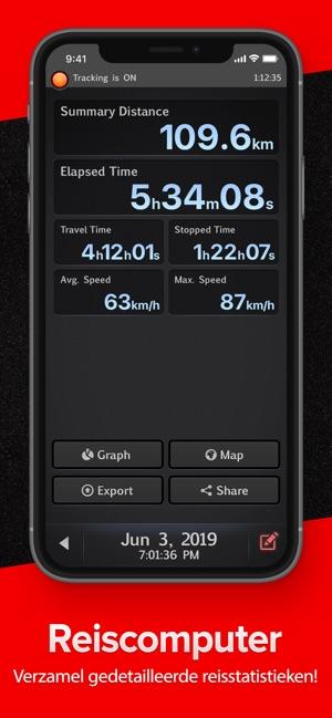 Goede Speed Tracker lite in de App Store NZ-15