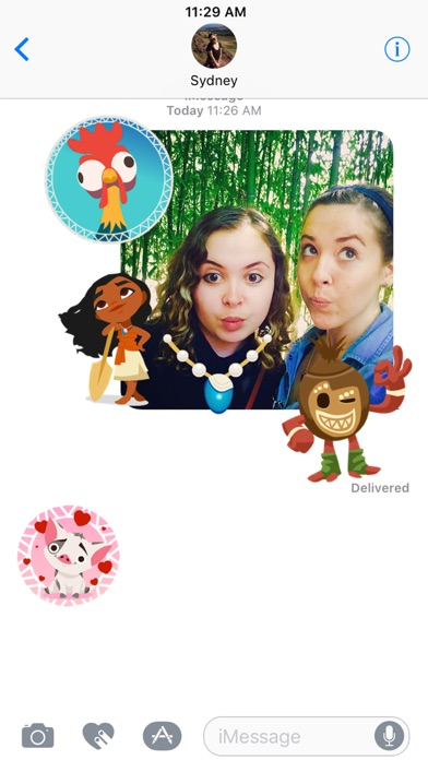 Disney Stickers: Moana