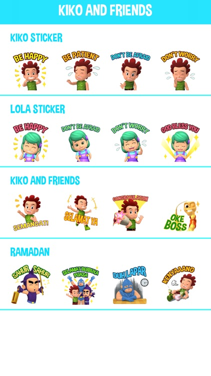 Kiko Sticker for Messenger