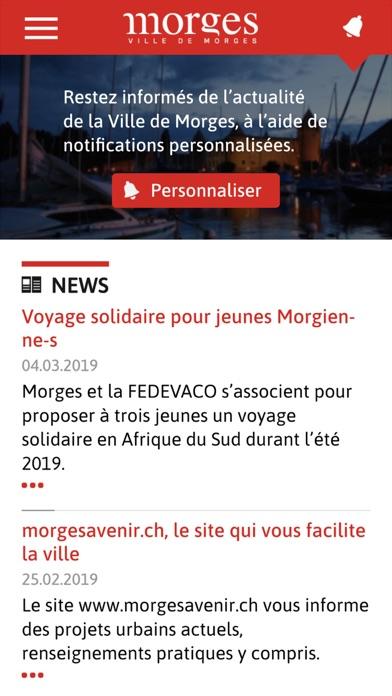 Ville de Morges Screenshot