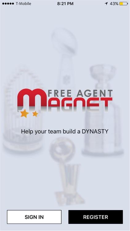 FREE AGENT MAGNET