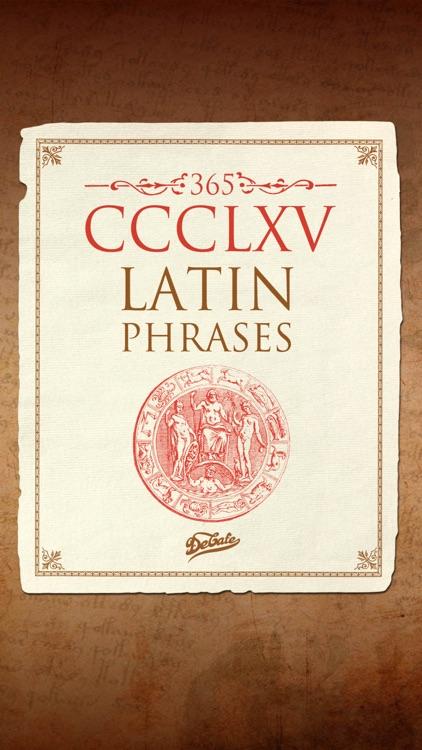 365 Latin phrases (Full)