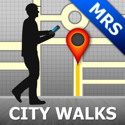 Marseille Map & Walks (F)