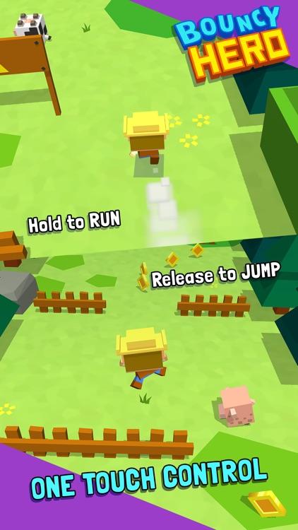 Bouncy Hero screenshot-4