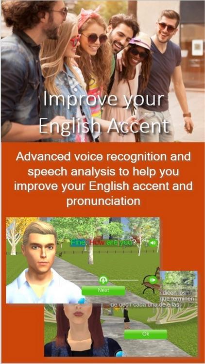 3D English Learning App  - ESL screenshot-3