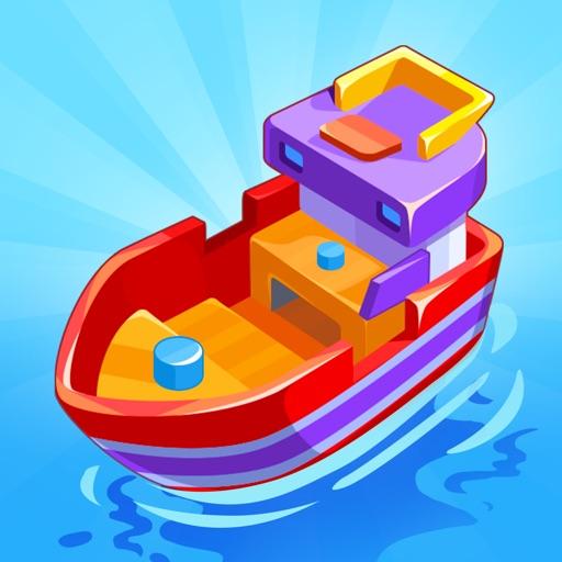 Merge Ship: Idle Tycoon icon