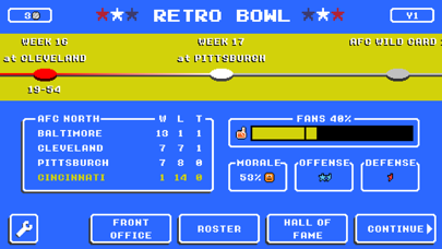 Retro Bowl screenshot 15