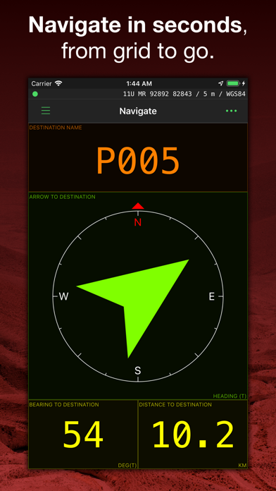 MilGPS Screenshot