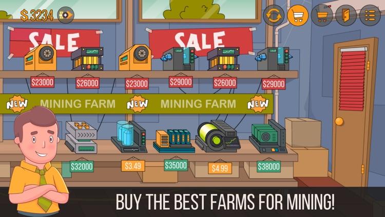 Miner Tycoon Bitcoin Simulator screenshot-4