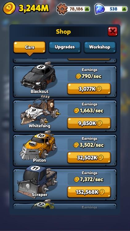 Merge Battle Car screenshot-3