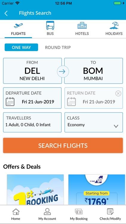 EaseMyTrip- Flight Booking App