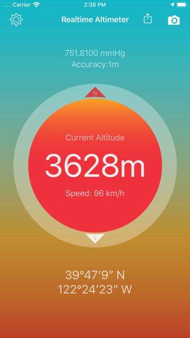 Realtime Altimeter - GPS,BARO