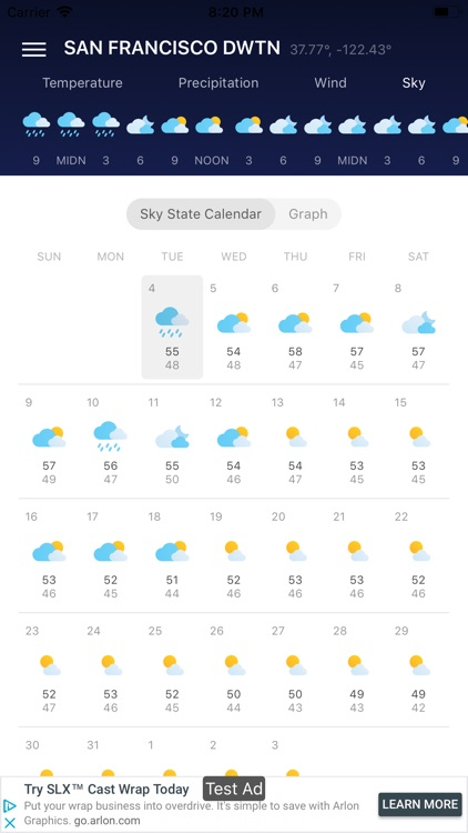30 Day Weather