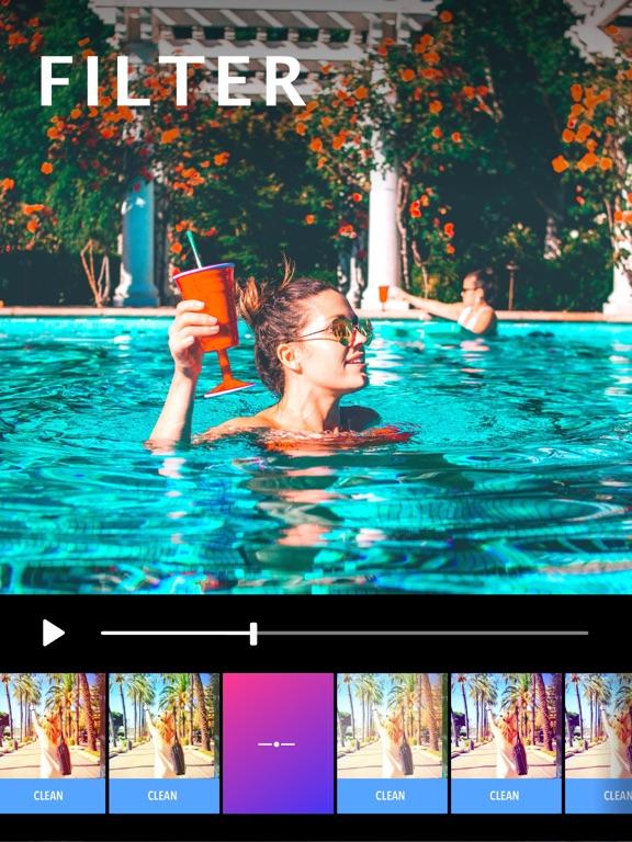 Piczoo2: Video Filter & Editor-ipad-0