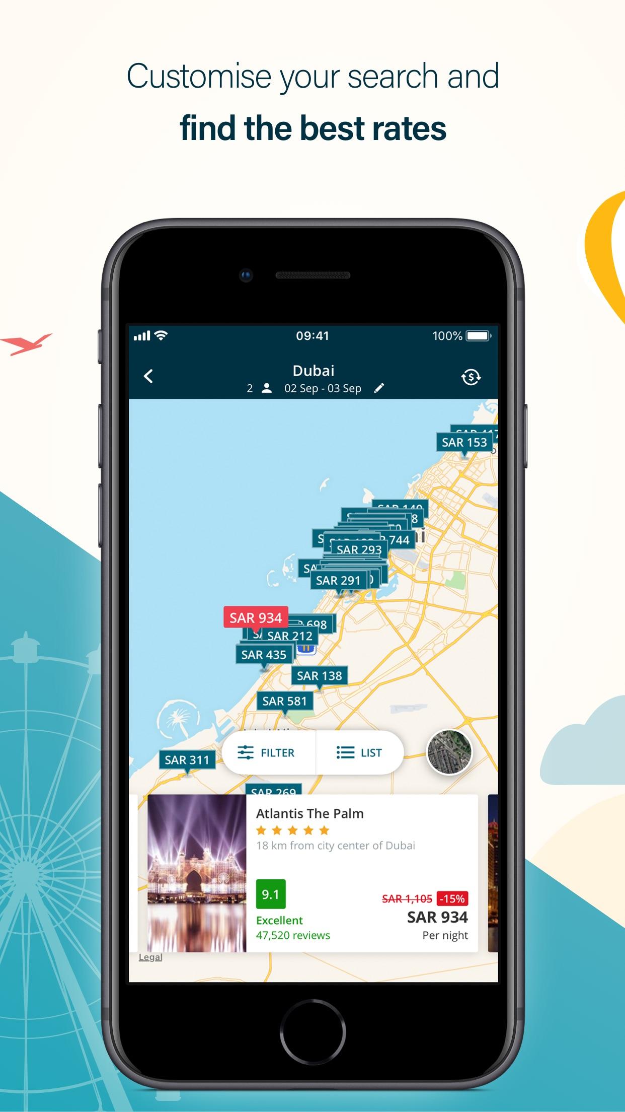 المسافر لحجوزات السفر Screenshot