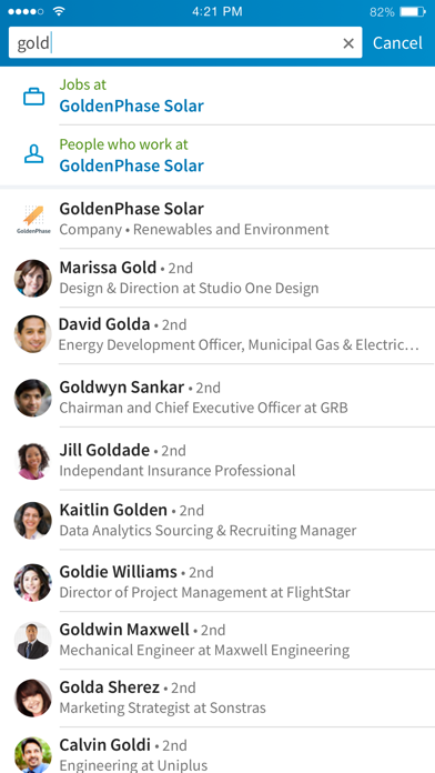 Screenshot for LinkedIn in Canada App Store