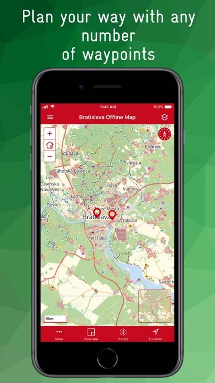 Bratislava Offline Map screenshot-8