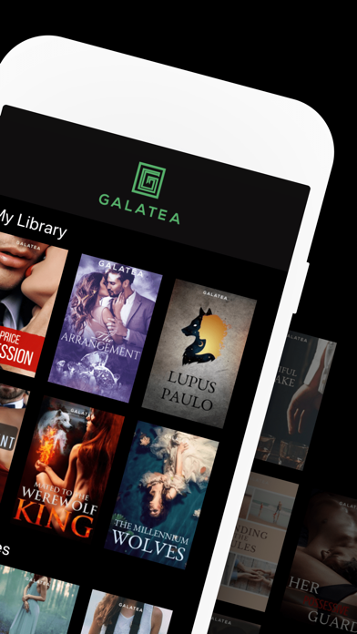 GALATEA - Addictive Stories Screenshot
