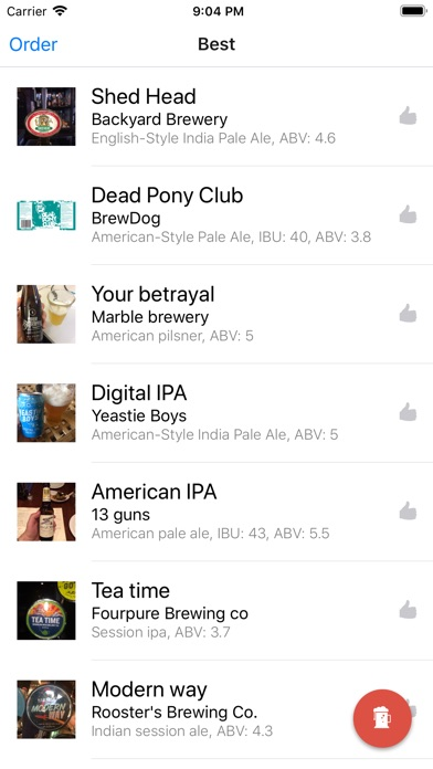 Craft Beer Notes Screenshots