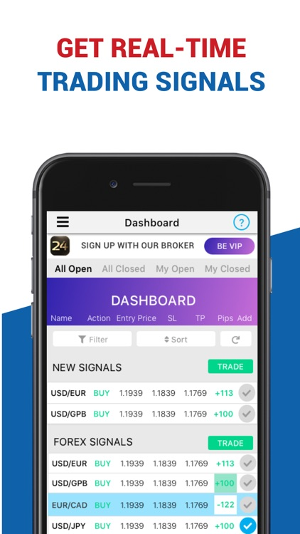 Forex & Trading app FX Signals by marketing66