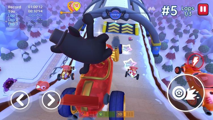 Starlit On Wheels: Super Kart screenshot-4