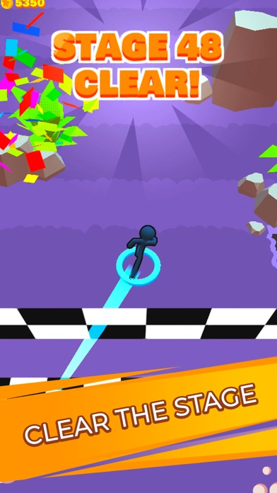 Stickman Dash! screenshot 4