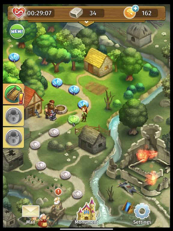 Robin Hood Legends - Merge 3 screenshot 12