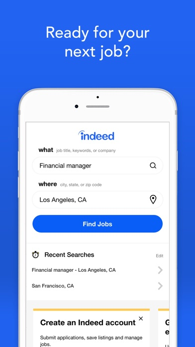 Indeed Job Search review screenshots