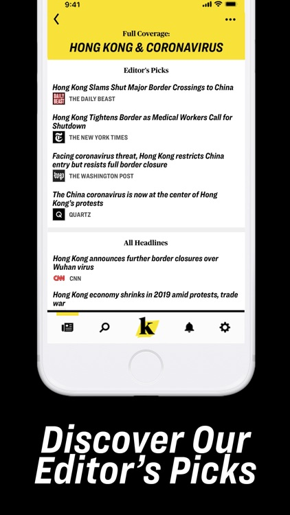 Knewz: Local & World News App screenshot-7