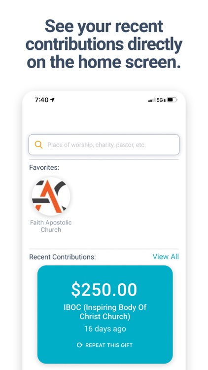 Givelify Mobile Giving App screenshot-4