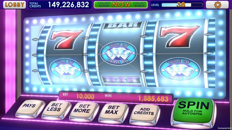 Triple 7 Deluxe Classic Slots screenshot-8