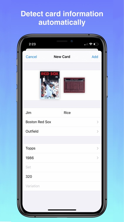 Cardstock: Scanner and Catalog