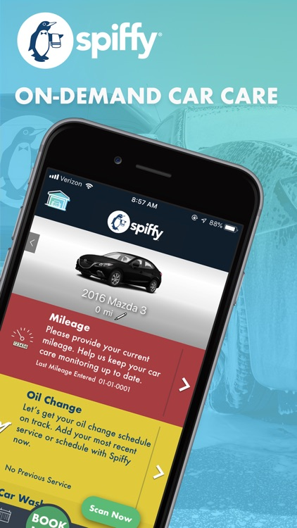 Spiffy On-Demand Car Care