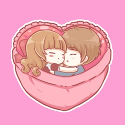Centilia & Raei Cuddle Sticker