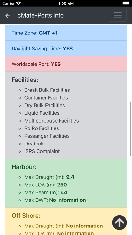 cMate-Ports Info screenshot-4