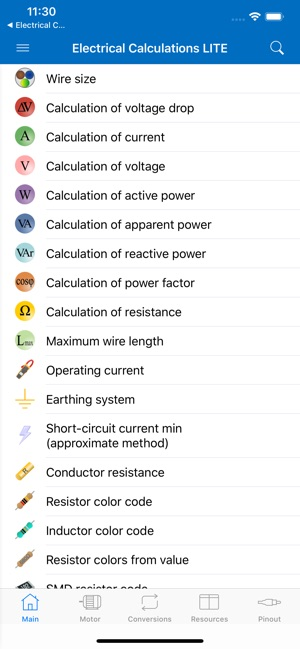 Electrical Calculations LITE on the App Store