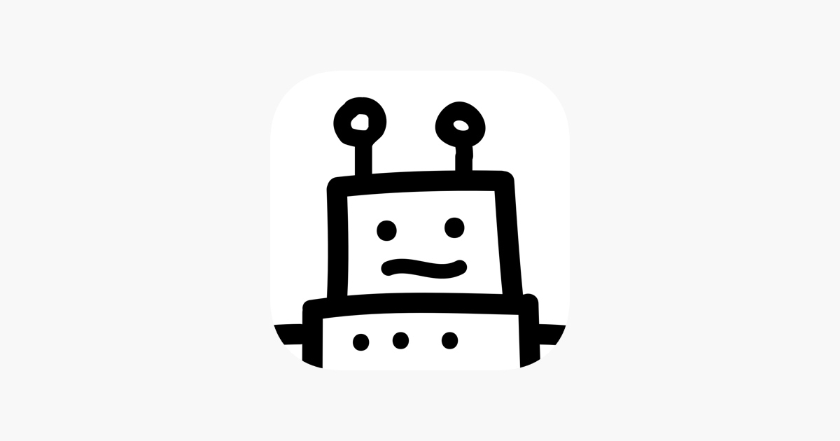 Chatty your robot friend on the App Store