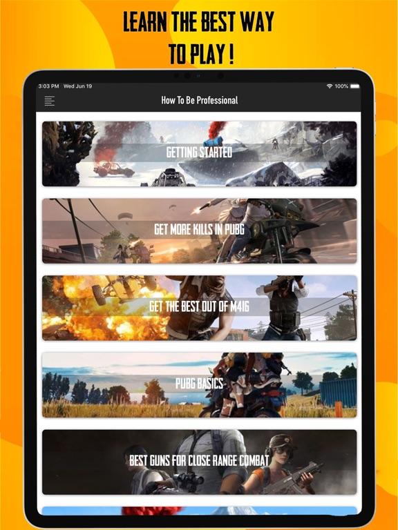 PUBG Pro Guide: MOBILE-PC-XBOX screenshot #3