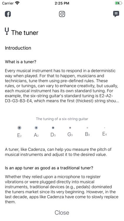 Cadenza Musician's Kit screenshot-3