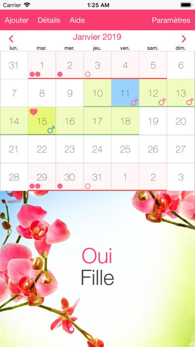 Calendrier Ovulation Et Regle.Telecharger Calendrier Ovulation Regles Pour Iphone