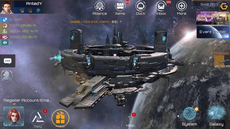 Nova Empire: Space Battle MMO screenshot-5