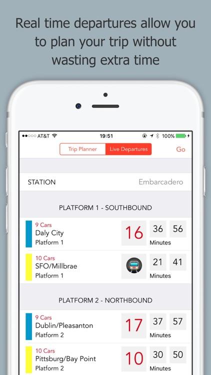 Train Stop - A BART App